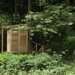 ツリーハウス式バイオトイレ