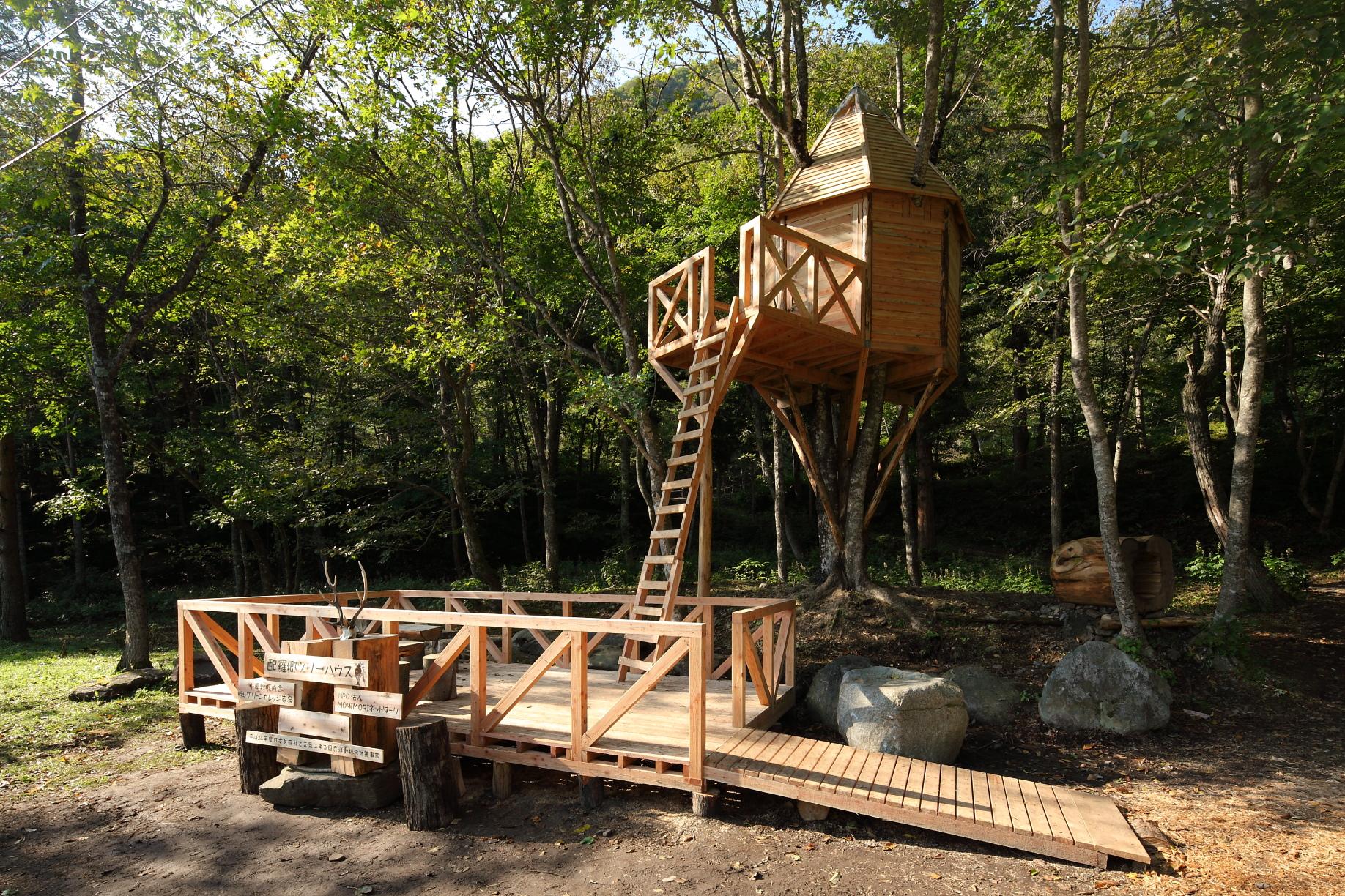 ツリーハウス&森の建物カタログ